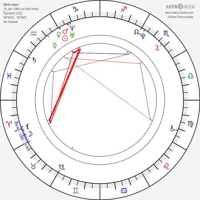 Radomír Kupec - Astrology Natal Birth Chart