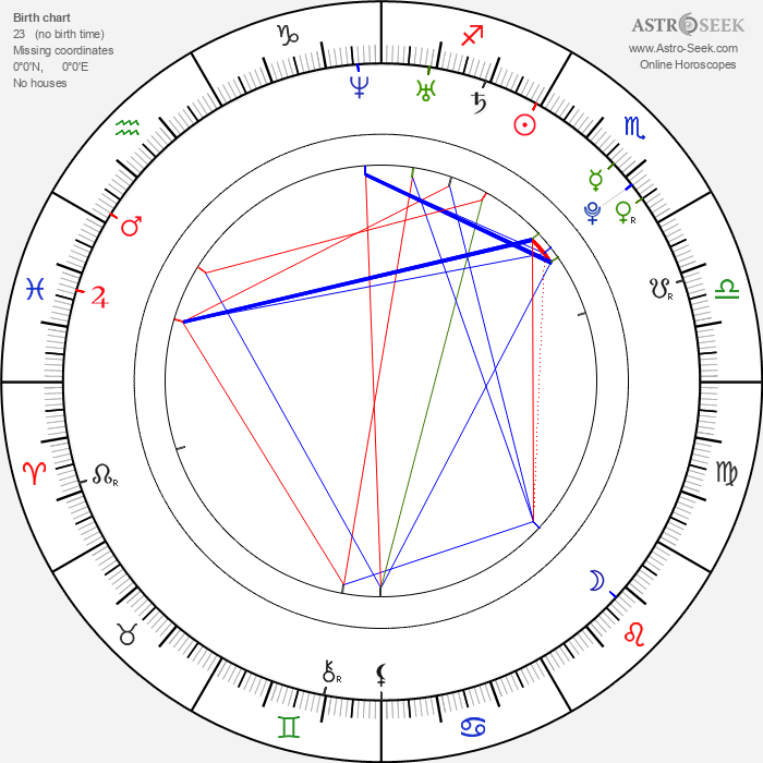 Reese Eveneshen - Astrology Natal Birth Chart