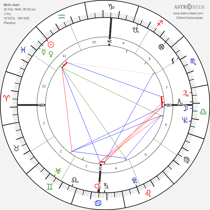 Richard Cocciante - Astrology Natal Birth Chart