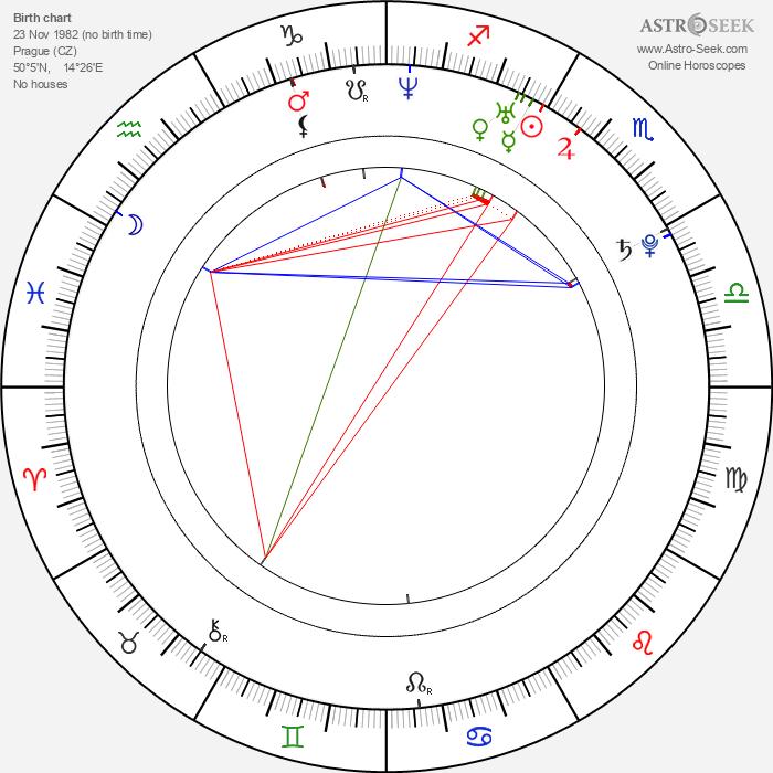 Richard Nedvěd - Astrology Natal Birth Chart