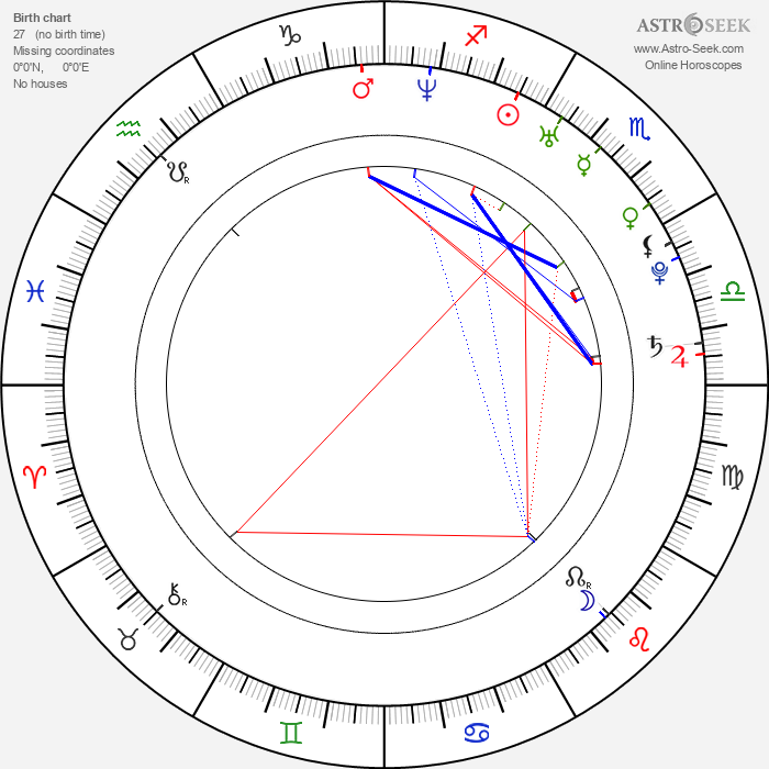 Rod Blackhurst - Astrology Natal Birth Chart