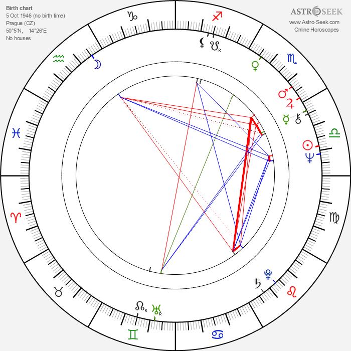 Rudolf Hrušínský Jr. - Astrology Natal Birth Chart