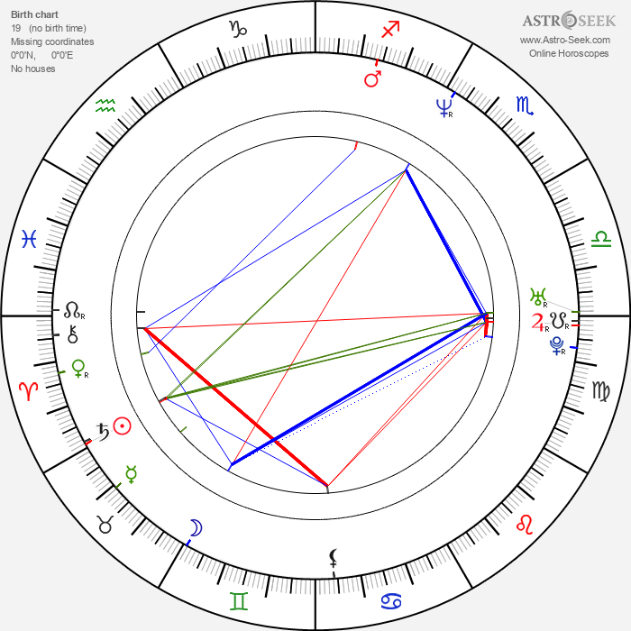 Shannon Lee - Astrology Natal Birth Chart