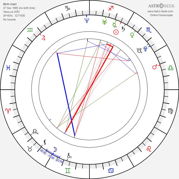 Soo-jin Park - Astrology Natal Birth Chart
