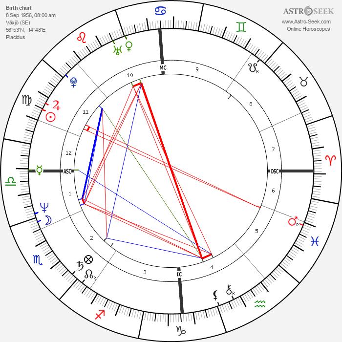 Stefan Johansson - Astrology Natal Birth Chart