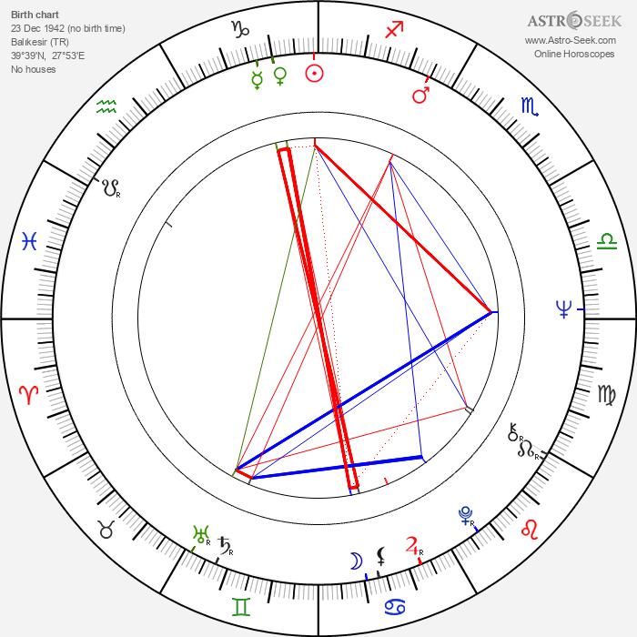 Süha Arin - Astrology Natal Birth Chart