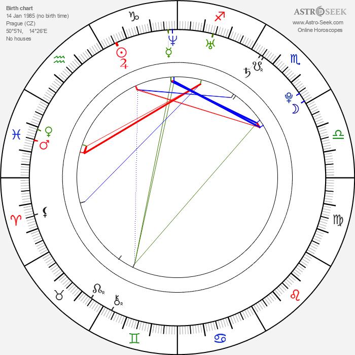 Sylva Koblížková - Astrology Natal Birth Chart
