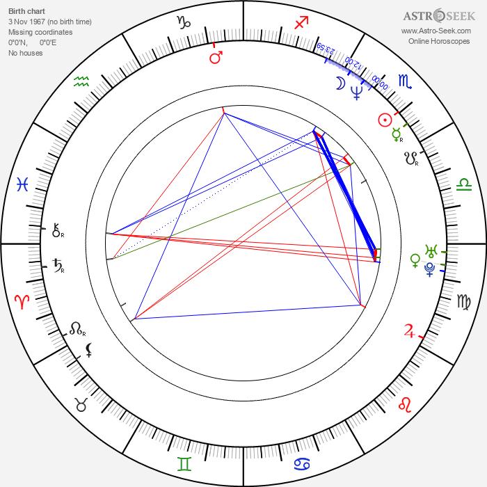 Takayuki Hamana - Astrology Natal Birth Chart