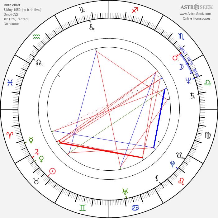 Taťána Schottnerová - Astrology Natal Birth Chart