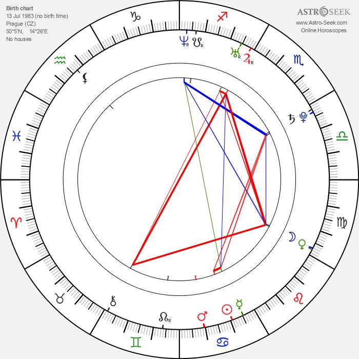 Tereza Černochová - Astrology Natal Birth Chart