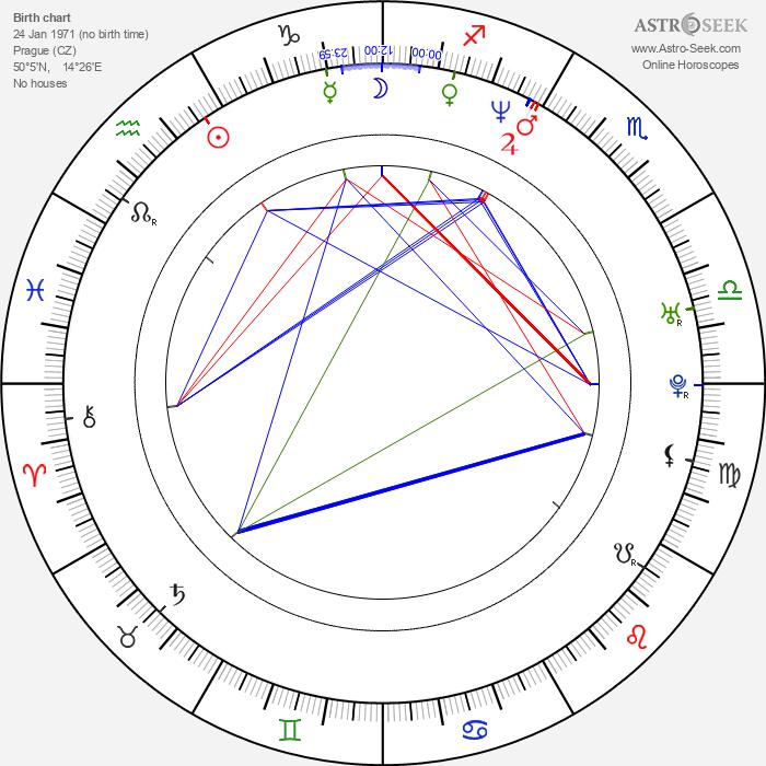 Tomáš Hejtmánek - Astrology Natal Birth Chart