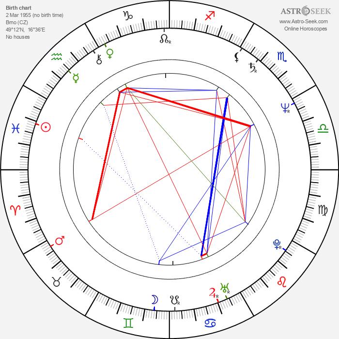 Václav Koubek - Astrology Natal Birth Chart