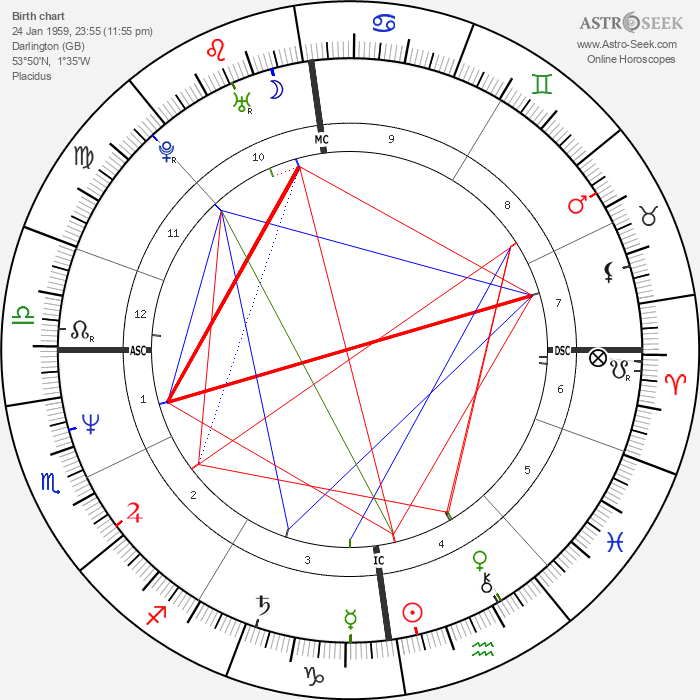 Vic Reeves - Astrology Natal Birth Chart
