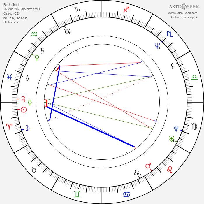 Vilma Cibulková - Astrology Natal Birth Chart