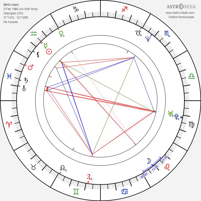 Vivian Wu - Astrology Natal Birth Chart