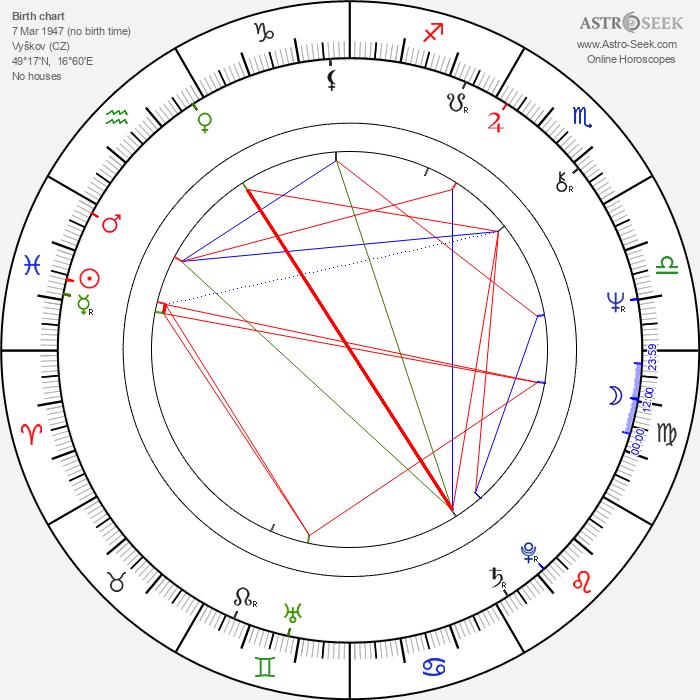 Vladimír Matějček - Astrology Natal Birth Chart