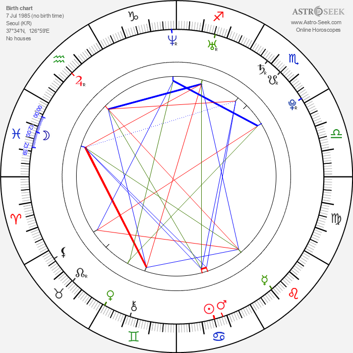 Woo Seo - Astrology Natal Birth Chart