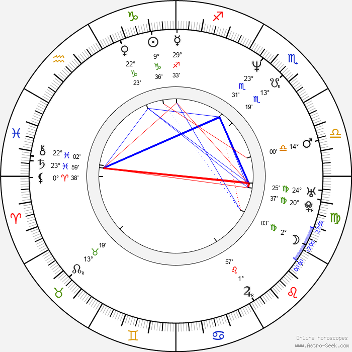 Adam Rifkin - Birth horoscope chart