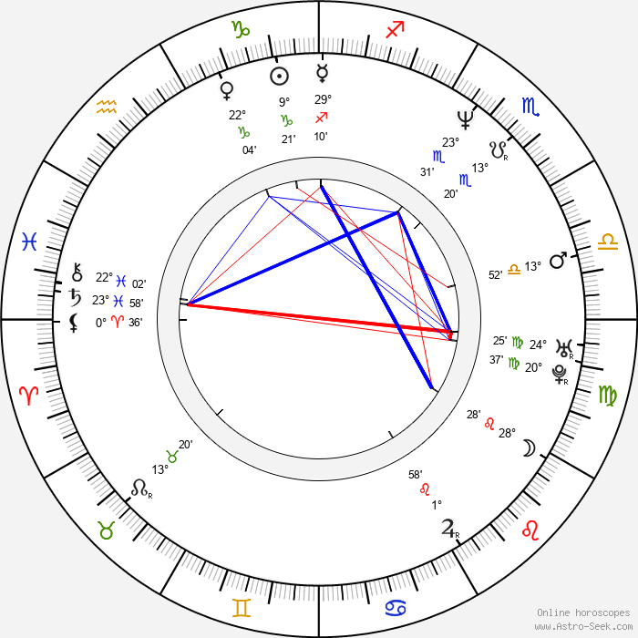 Adam Rifkin - Birth horoscope chart