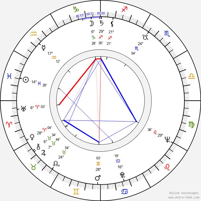 Casey Tibbs - Birth horoscope chart