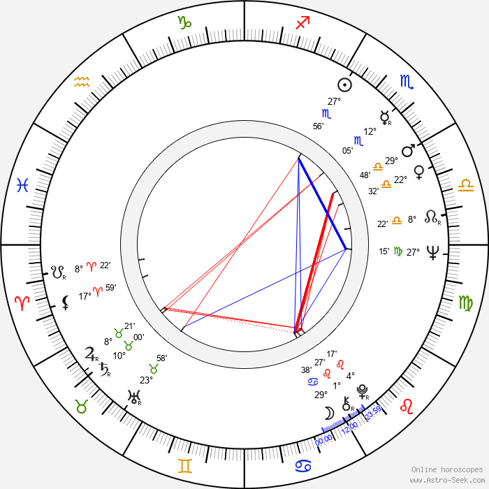 Chiem van Houweninge - Birth horoscope chart