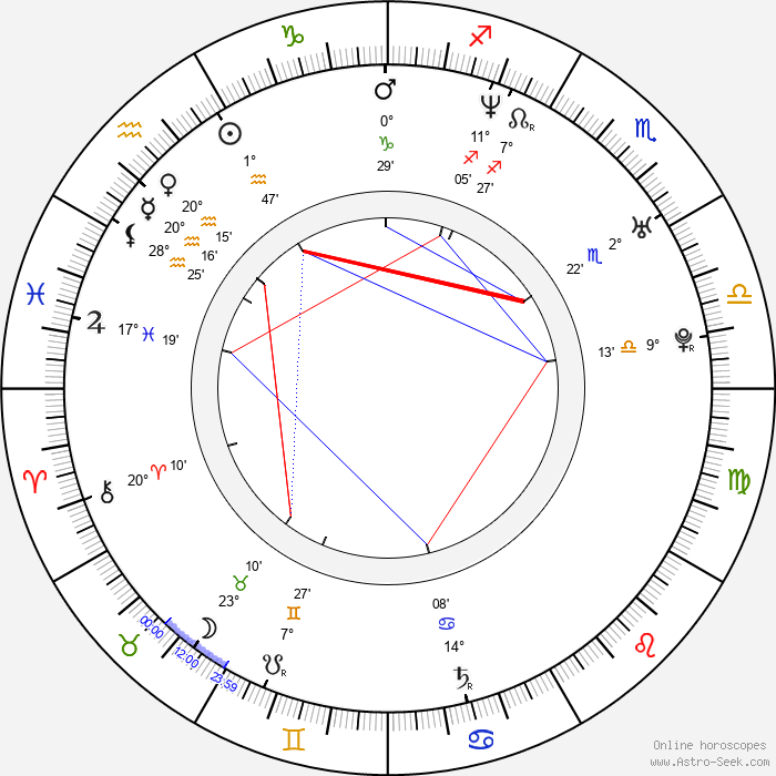 David Výborný - Birth horoscope chart