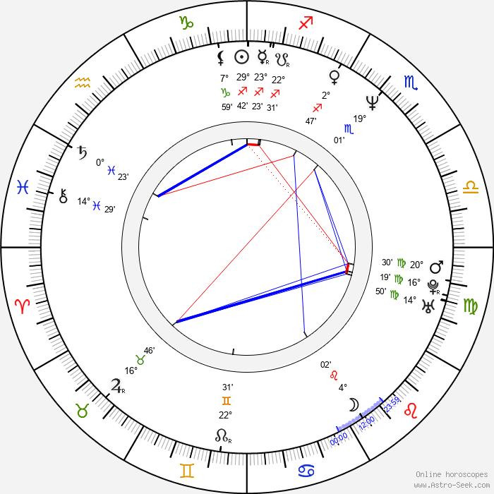 Gísli Snær Erlingsson - Birth horoscope chart