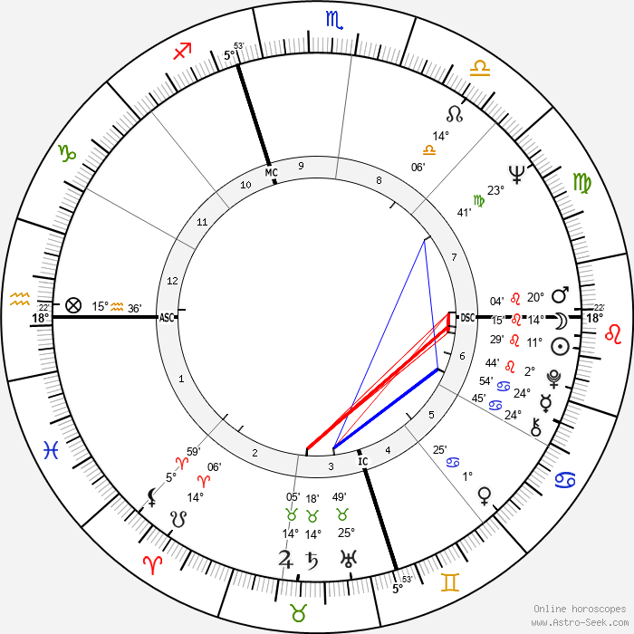 Martin Sheen - Birth horoscope chart