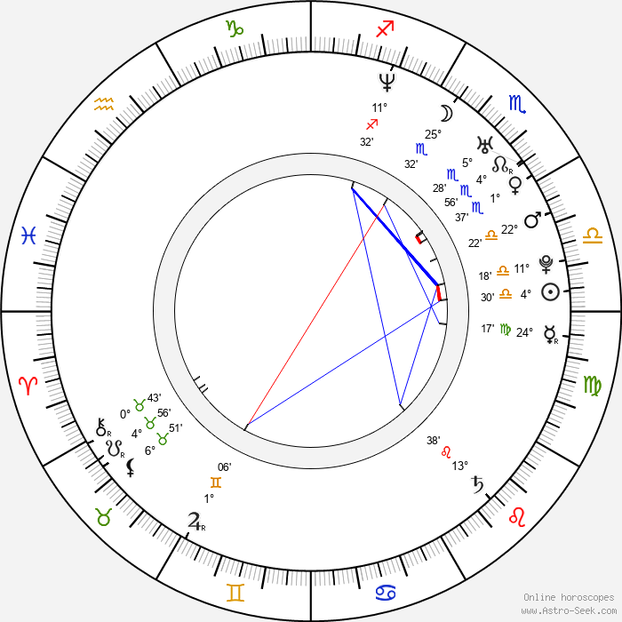 Matt Harding - Birth horoscope chart