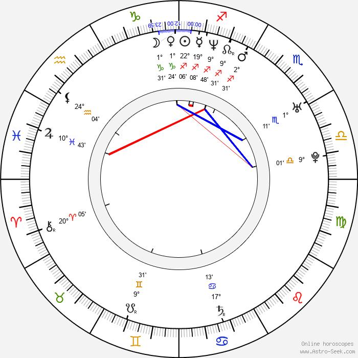 Remko Schnorr - Birth horoscope chart