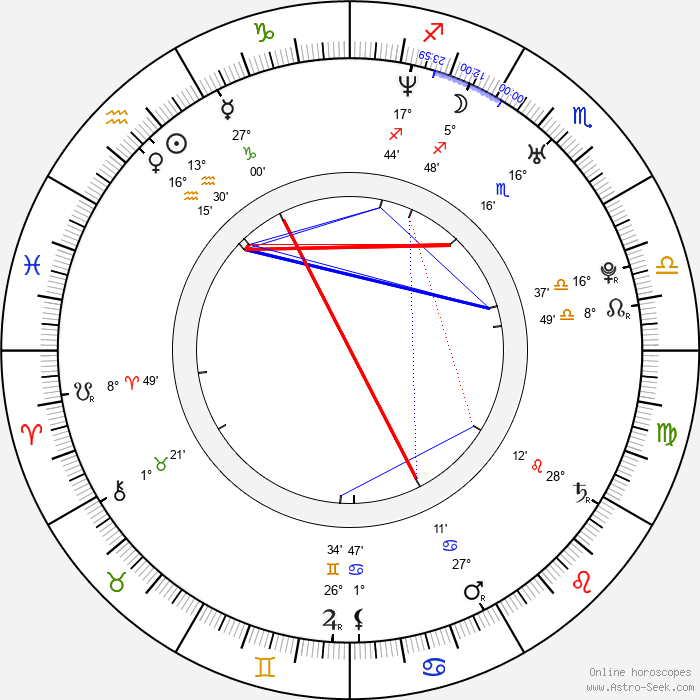 Rich Sommer - Birth horoscope chart