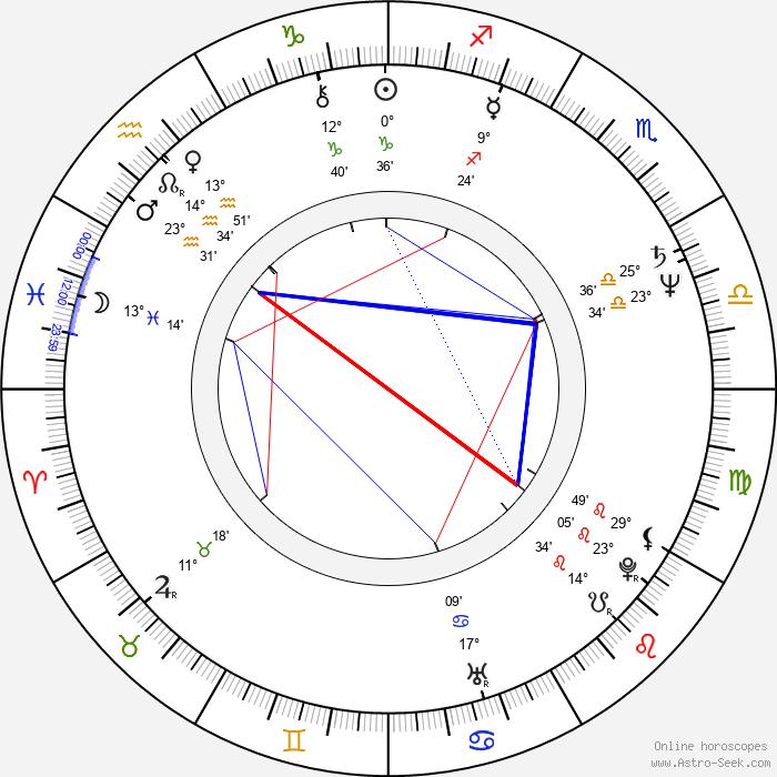 Richard Hybler - Birth horoscope chart