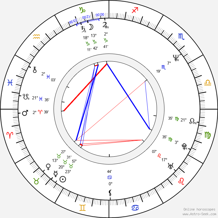Steve Williams - Birth horoscope chart