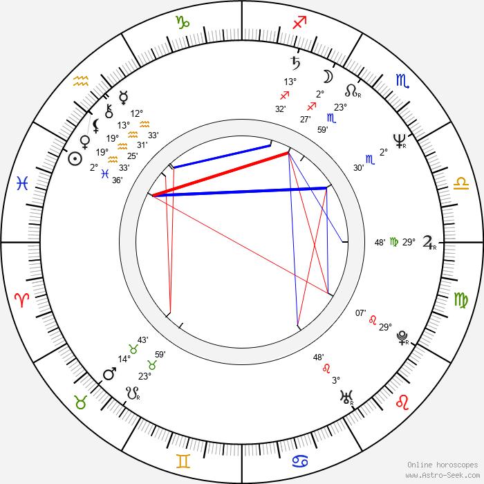 Stijn Coninx - Birth horoscope chart