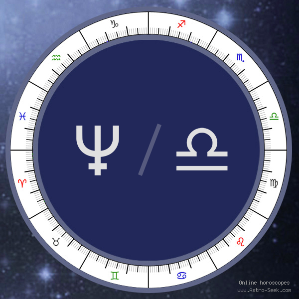 Neptune in Libra Sign - Astrology Interpretations. Free Astrology Chart Meanings
