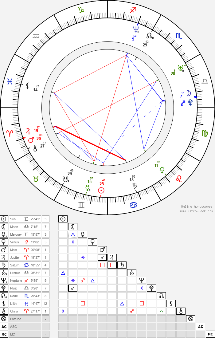 Steven Martini - Astrology Natal Birth Chart