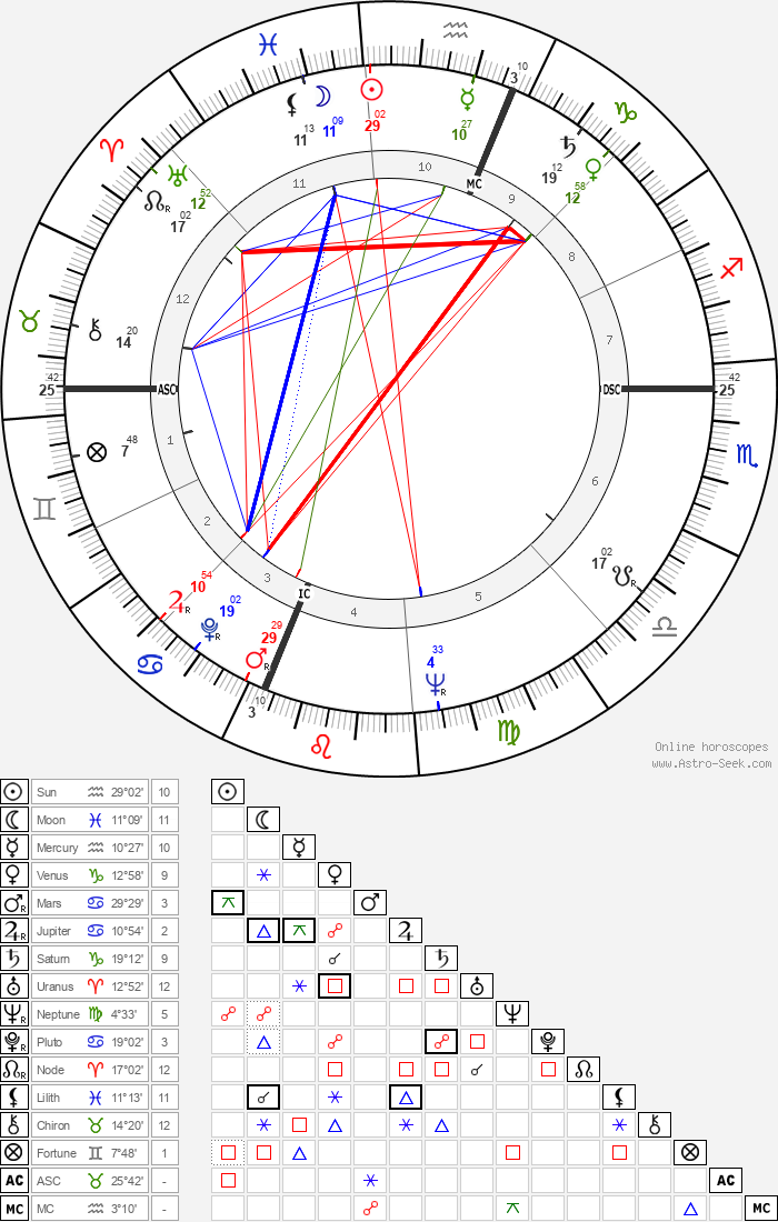 Toni Morrison - Astrology Natal Birth Chart